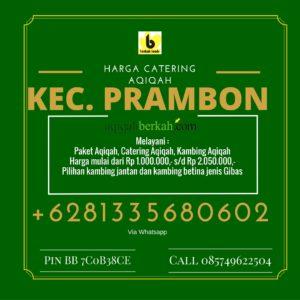 Harga Catering Aqiqah di Prambon