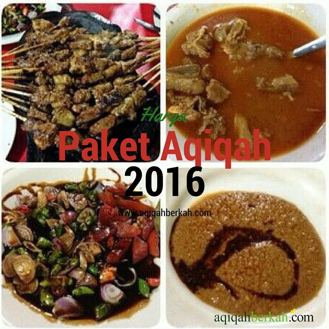 Harga Paket Aqiqah 2016