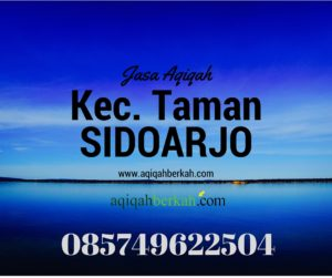 Jasa Aqiqah Daerah Taman Sidarjo
