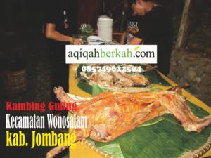 kambing guling kecamatan wonosalam jombang