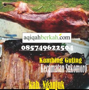 kambing guling kecamatan sukomoro nganjuk