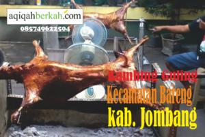 kambing guling kecamatan bareng jombang