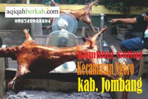 kambing guling kecamatan ngoro jombang
